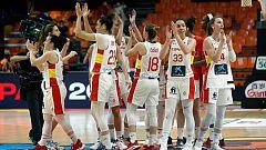 La selección se reivindica con una gran victoria ante Suecia en el Eurobasket