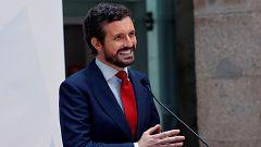 """El PP acusa al Gobierno de buscar """"rédito electoral"""" con el fin de las mascarillas"""