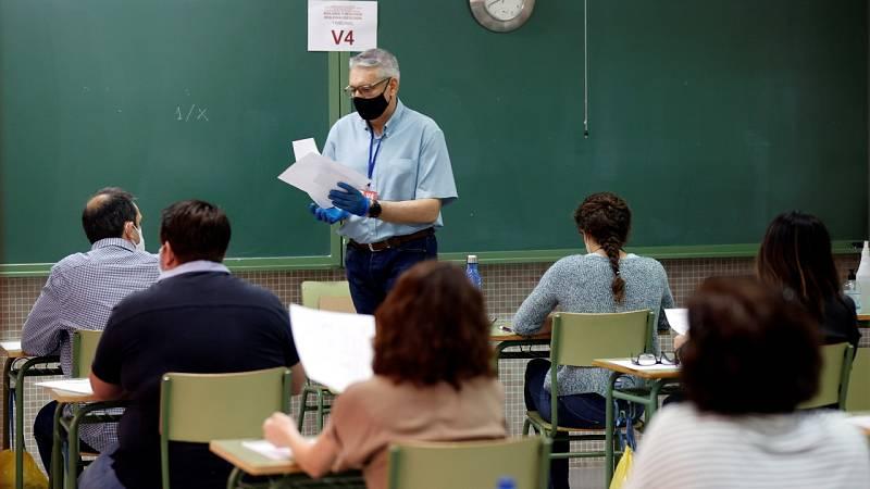 Vuelven las oposiciones a docentes en buena parte de España tras el parón de la pandemia