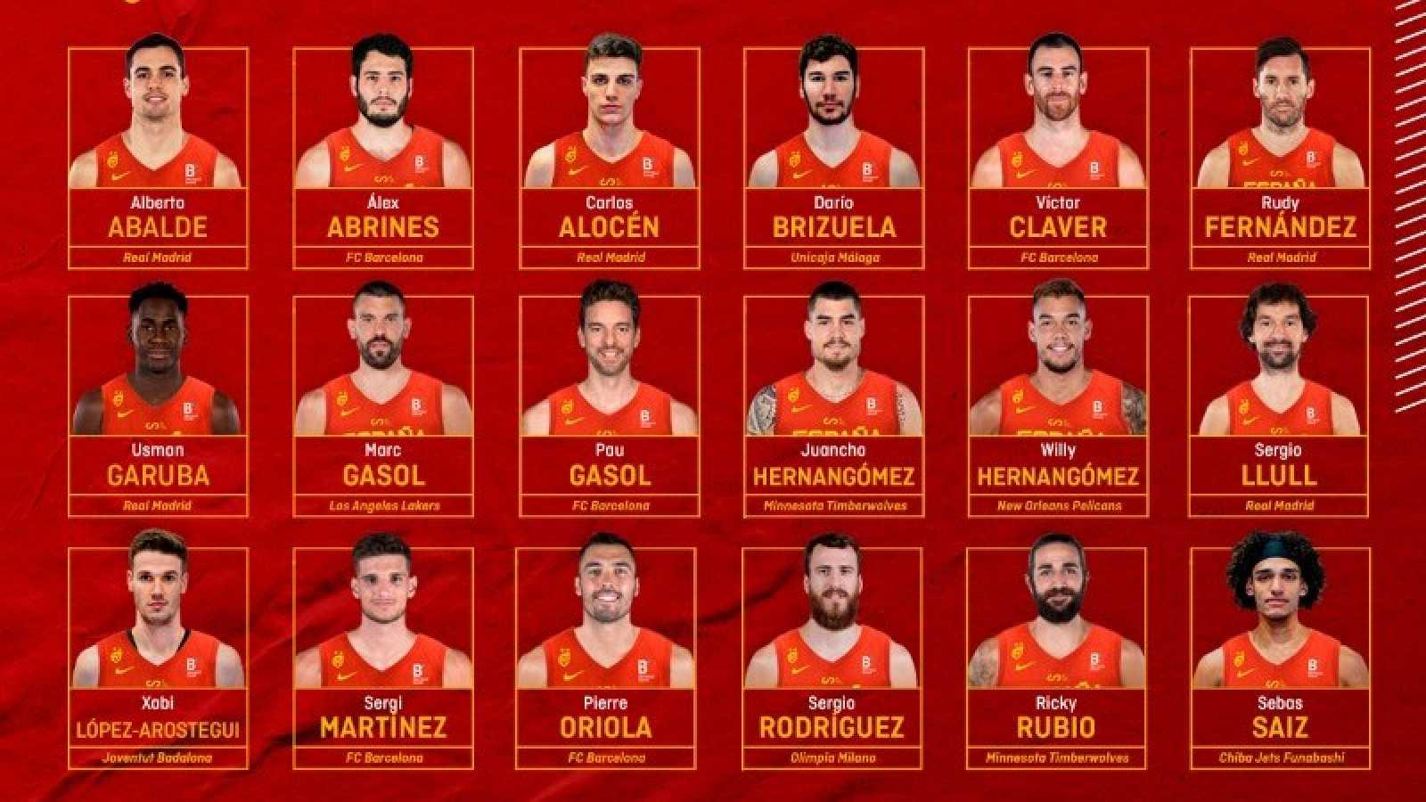 Pau Gasol regresa a la selección española de baloncesto