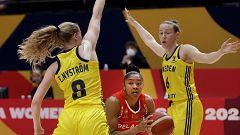 Baloncesto - Campeonato de Europa Femenino: Suecia - Bielorrusia