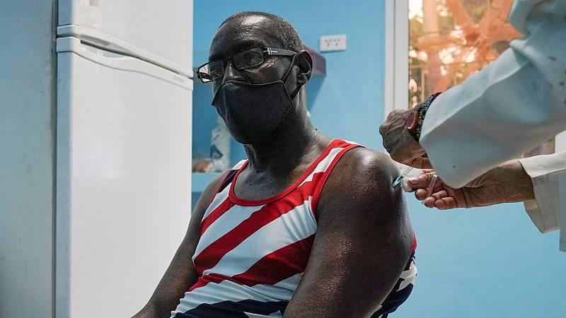 Las vacunas cubanas demuestran un 62 % de eficacia cuando va a comenzar su administración