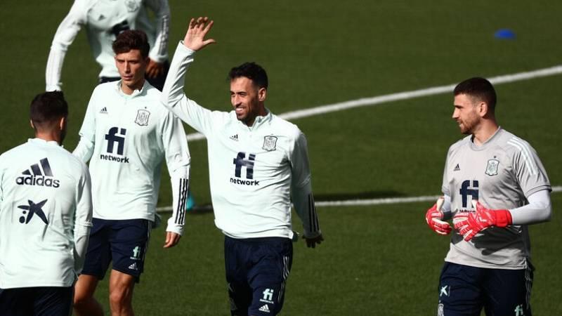 Busquets recupera sensaciones antes de la 'final' ante Eslovaquia