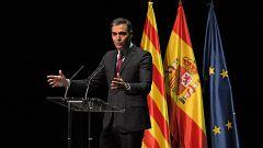 """Sánchez anuncia que el Consejo de Ministros de este martes aprobará los indultos entre abucheos y gritos de """"amnistía"""""""