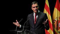"""Sánchez justifica los indultos para lograr """"la unión de una gran mayoría de futuro y convivencia en Cataluña"""""""