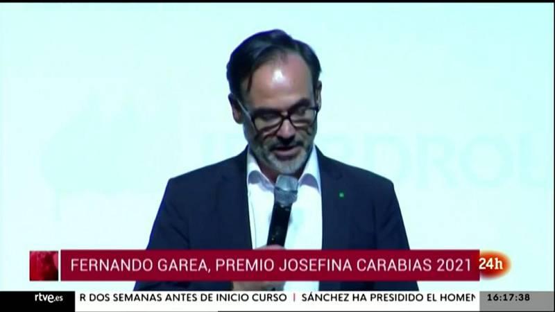 Parlamento - Conoce el Parlamento - Fernando Garea, premio Josefina Carabias - 19/06/2021