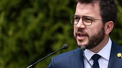 """Pere Aragonès ve los indultos a los líderes del 'procés' un """"primer paso"""" pero """"insuficiente"""""""