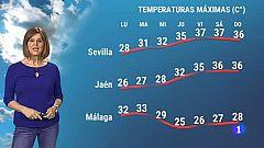 El tiempo en Andalucía - 21/06/2021