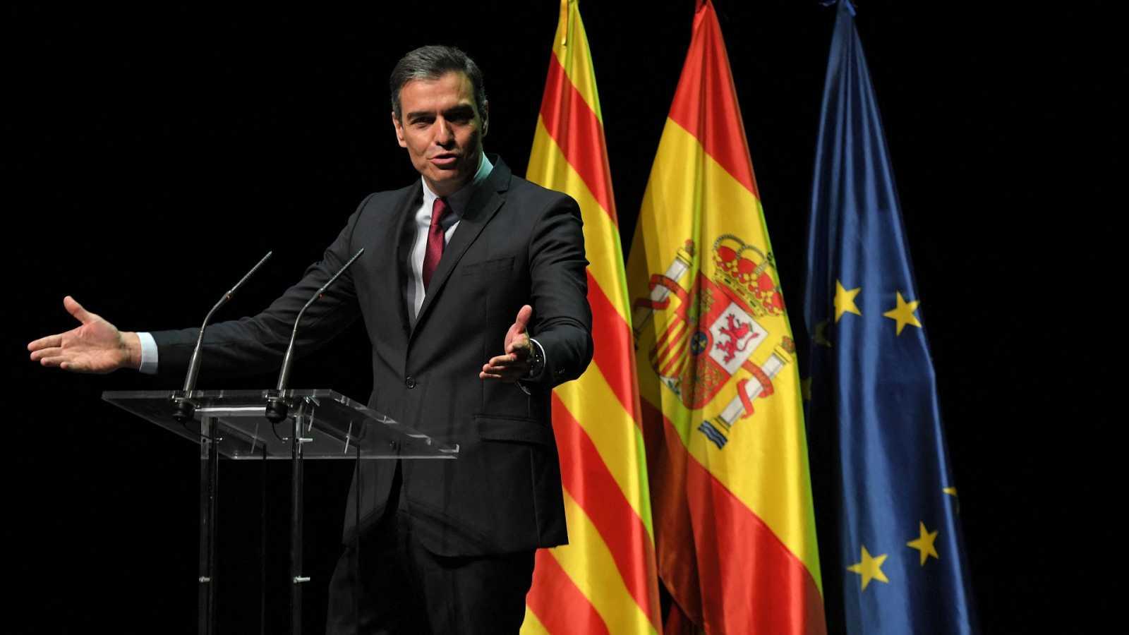 Sánchez anuncia que el Gobierno indultará este martes a los presos del 'procés'