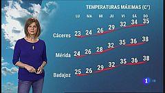 El tiempo en Extremadura - 21/06/2021
