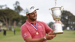 Jon Rahm hace historia al ser el primer español en  ganar el US Open