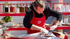 El gran trabajo de Arnau con el pescado