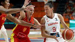 Baloncesto - Campeonato de Europa Femenino. 1/8 Final: España - Montenegro