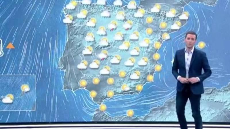 La Aemet prevé lluvia fuerte en el Cantábrico y ascenso térmico en el tercio suroeste