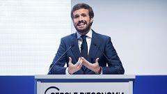 Casado anuncia que el PP solicitará la legitimación para recurrir los indultos del 'procés' ante el Supremo