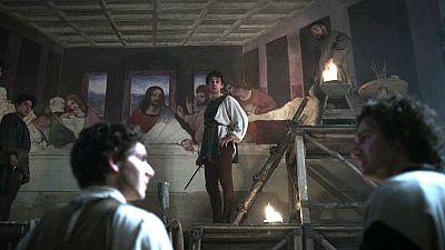 Leonardo pudo corregir fallos al pintar 'La última cena'