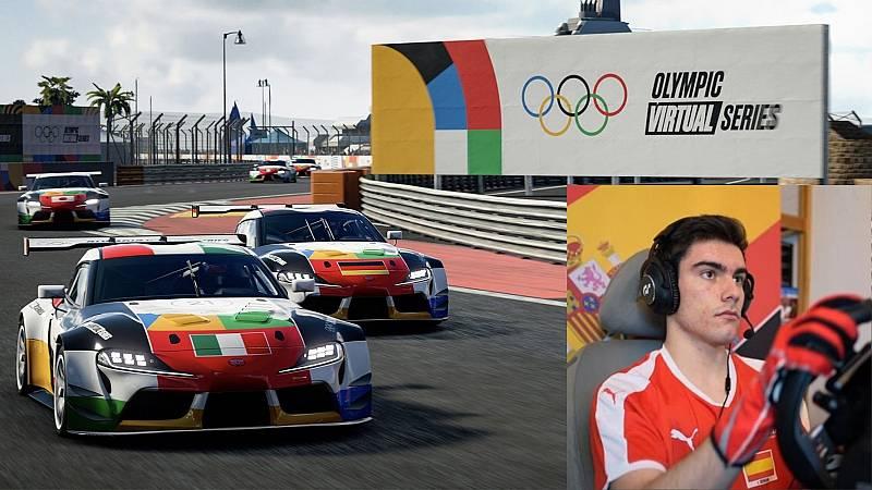 José Serrano, todo por una medalla en las primeras Series Olímpicas Virtuales de la historia