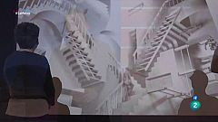 La Metro - Les il·lusions optiques d'Escher, al Marítim
