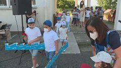 CEIP Arcediago, en Santiso, exemplo de colexio rural