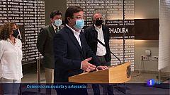 Extremadura destinará 36 millones de euros para comercio y artesanía hasta 2023