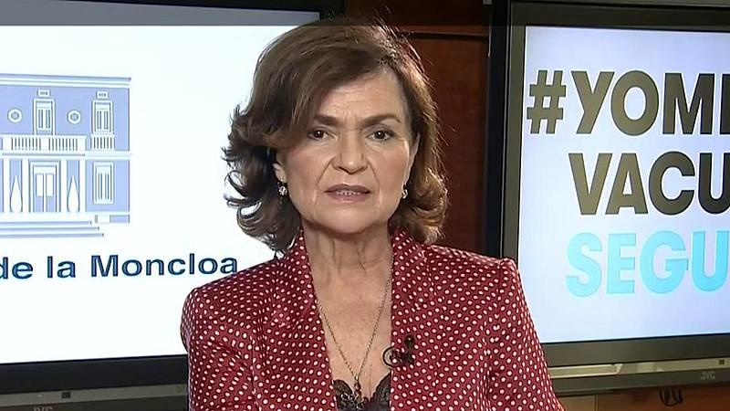 """Calvo asegura que los indultados ya han """"rendido cuentas"""", pero avisa a los huidos: """"Quienes todavía no lo han hecho lo tendrán que hacer"""""""