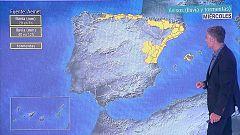 Precipitaciones persistentes y localmente fuertes en el Cantábrico oriental