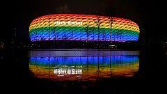 Amnistía Internacional repartirá banderas arcoiris a los espectadores del Alemania-Hungría