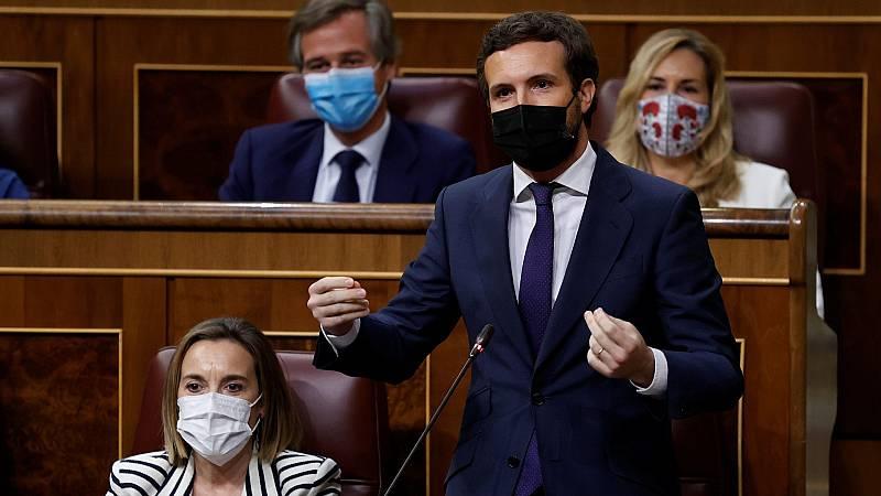 """Casado pide a Sánchez que dimita por """"traicionar a España"""" con los indultos: """"Ha cruzado el Rubicón"""""""