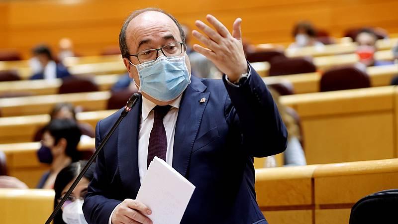 """Iceta responde a Vox que """"no va a haber amnistía ni autodeterminación"""" y añade: """"No ha nacido quien me humille a mí y menos a España"""""""