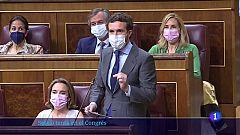 Tensa sessió de control a Pedro Sánchez després de l'indult als presos