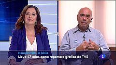 Manuel Ovalle, reportero gráfico en Huelva, se jubila