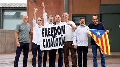 Los indultados del 'procés' salen en libertad y reafirman su compromiso por la independencia