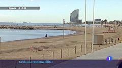 Barcelona limita l'accés a les platges per la Revetlla de Sant Joan
