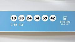 Sorteo de la Lotería Bonoloto del 23/06/2021