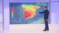 Viento fuerte en el Estrecho y con intervalos de intensidad fuerte en los litorales coruñés y almeriense