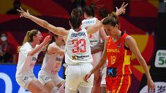 Serbia elimina a España en la prórroga en el Eurobasket