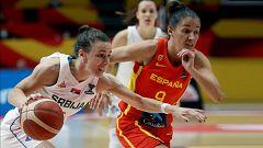 Baloncesto - Campeonato de Europa femenino. 1/4 Final: Serbia - España