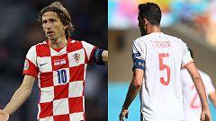 Así han sido los enfrentamientos ante Croacia, rival de España en octavos