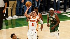 Los Hawks sorprenden a los Bucks en el primer partido de la Final del Este