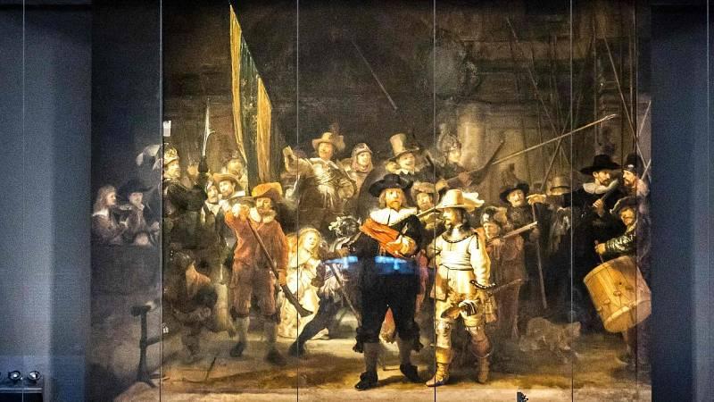 Una inteligencia artificial reconstruye la 'Ronda de Noche', de Rembrandt