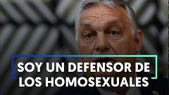 Orbán rechaza las críticas y dice que es un defensor de los homosexuales