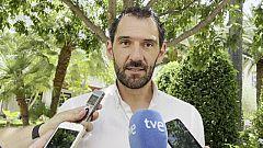 """Jorge Garbajosa, presidente de la FEB: """"El deporte es maravilloso pero a veces tiene ese lado cruel"""""""