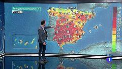 Aumento de temperaturas en el interior peninsular y Canarias