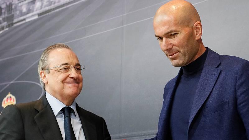 "Florentino: ""Luché para que Zidane siguiera"""
