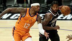 Los Clippers recortan distancia a los Suns
