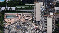 Buscan un centenar de desaparecidos tras un derrumbe en Miami