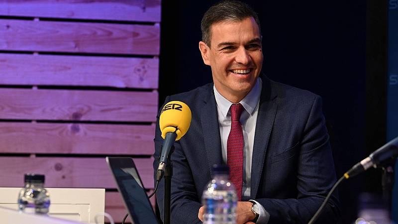 Sánchez rechaza que Junqueras esté en la mesa de diálogo y defiende que en la ley cabe un acuerdo sobre Cataluña