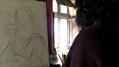 Leonardo da Vinci comienza su cuadro más famoso: La Gioconda
