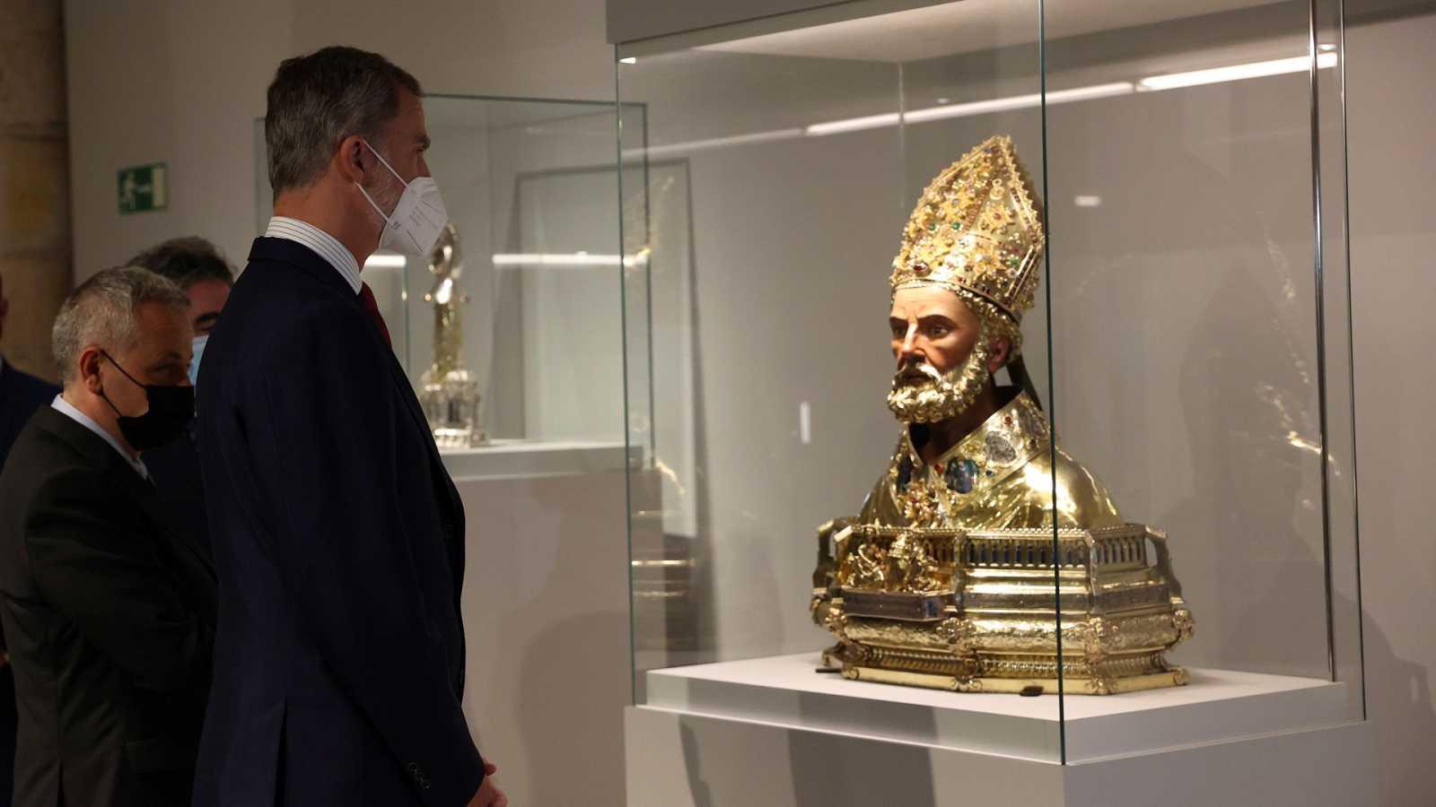 El Rey inaugura la 25 edición de 'Las Edades del Hombre'