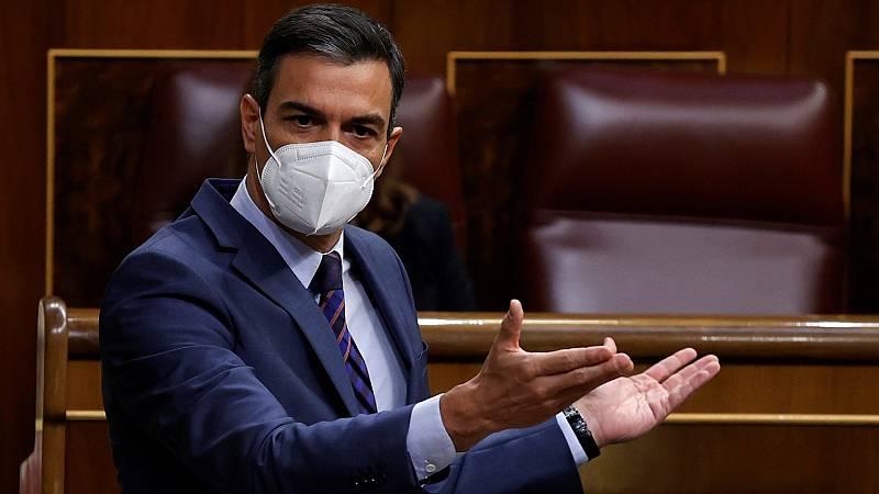"""Sánchez llama al diálogo y la concordia: """"Este debe ser y debe continuar siendo el espíritu de la Constitución"""""""